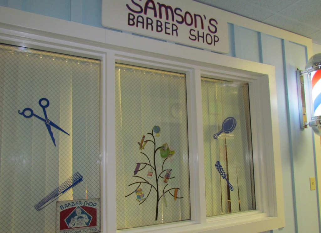 samson's barber shop