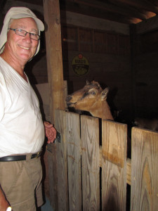 Henry Burkert, Greelands Farm, Bolivia, N.C.