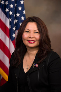 Tammy Duckworth,official portrait, on her Websites