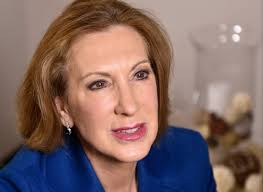 Carly Fiorina, picture from   USA Today