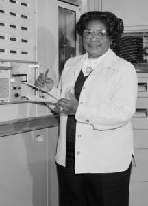 NACA Mathametician, First African American Woman Engineer for NASA (NASA photo)